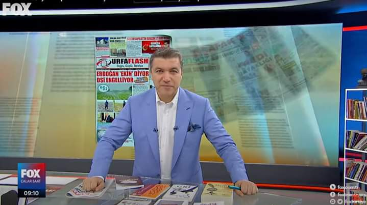 URFA FLASH GAZETESİ FOX TV'DE